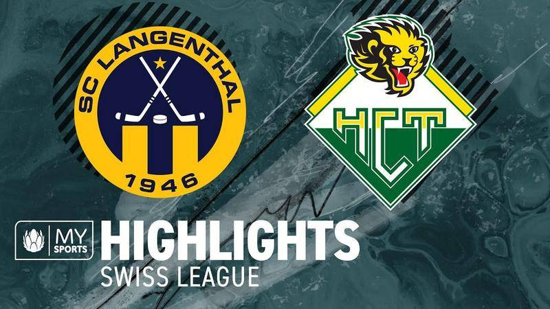 SC Langenthal – HC Thurgovie 2-3 OT3 (1-0 ; 0-0 ; 1-2)
