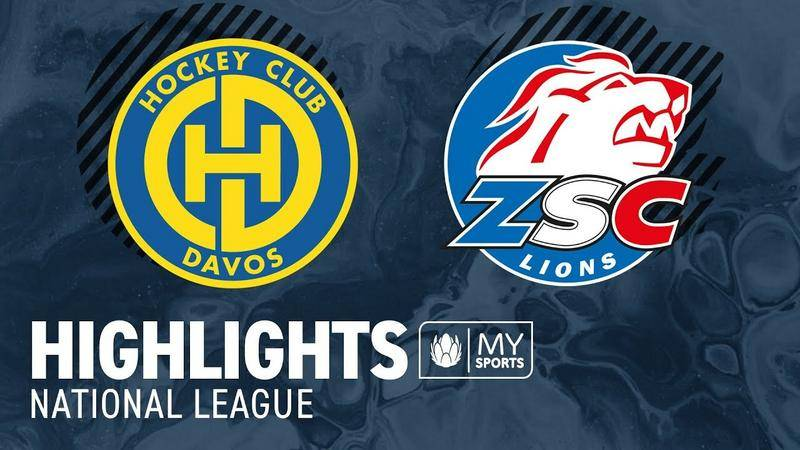 Davos vs. ZSC Lions 2:3 - Highlights National League