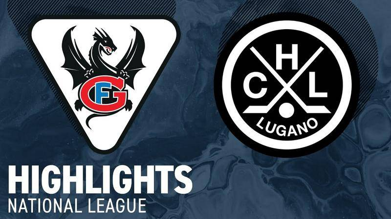 Fribourg-Gottéron vs. HC Lugano 4:2 - Highlights National League