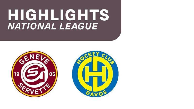 Genf vs. Davos 5:6 - Highlights National League