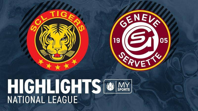 SCL Tigers vs. Genf 3:4 - Highlights National League