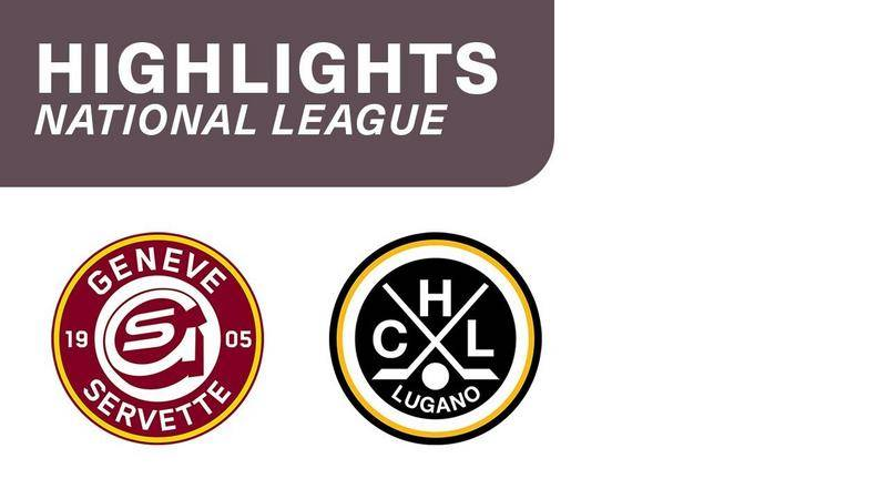 Genf vs. Lugano 4:0 - Highlights National League