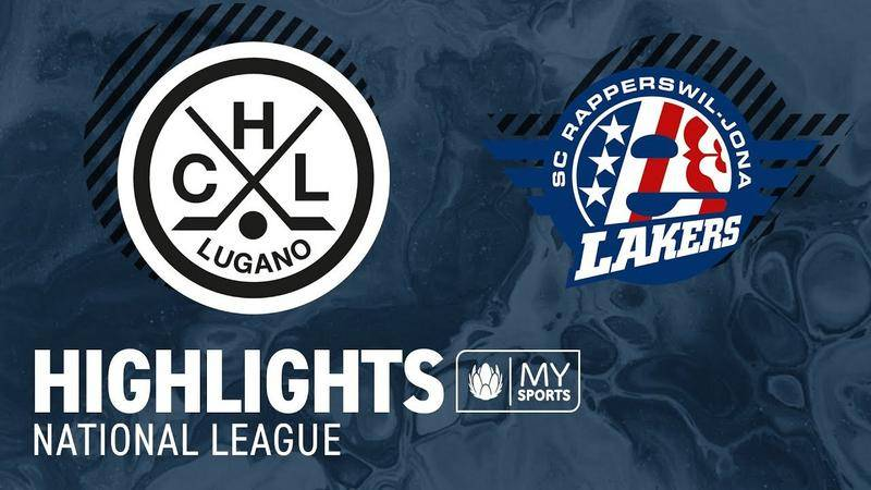 Lugano vs. SCRJ Lakers 2:3 nV - Highlights National League l Playoff-Viertelfinal, Spiel 3 (1:2)