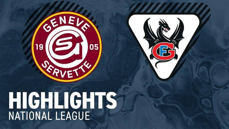 Genf vs. Fribourg 2:3 - Highlights National League