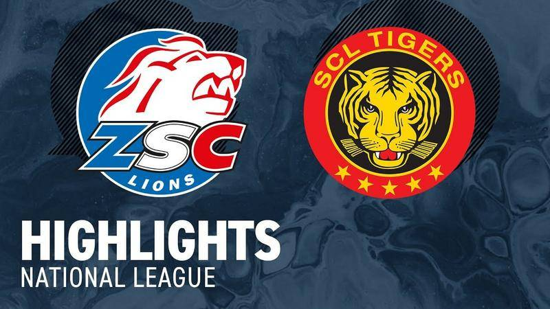 ZSC Lions vs. SCL Tigers 2:1 - Highlights National League