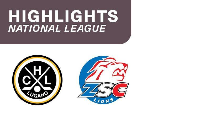 Lugano vs. ZSC Lions 3:1 - Highlights National League