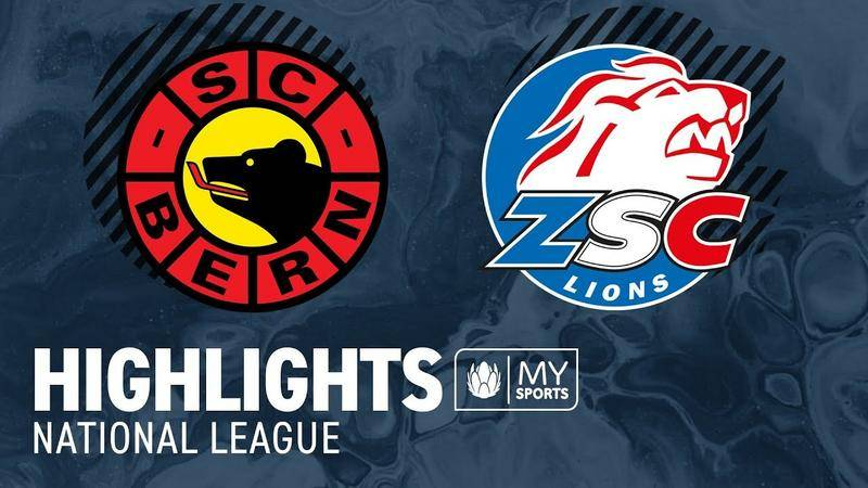 Bern vs. ZSC Lions 2:3 nP - Highlights National League