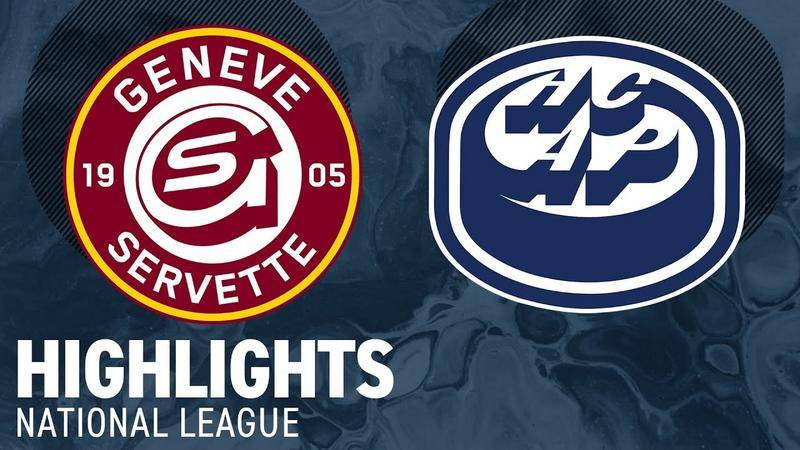 Genf vs. Ambri-Piotta 2:3 - Highlights National League