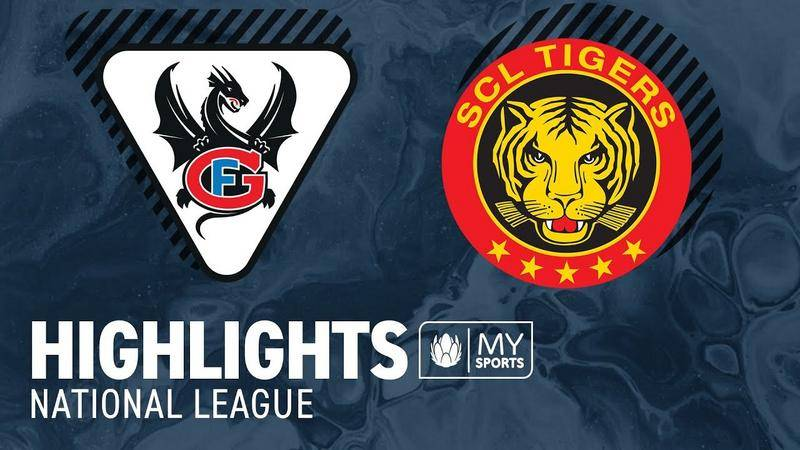 Fribourg vs. SCL Tigers 6:2 - Highlights National League