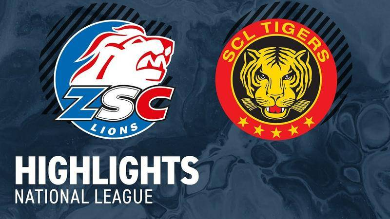 ZSC Lions vs. SCL Tigers 5:2 - Highlihgts National League