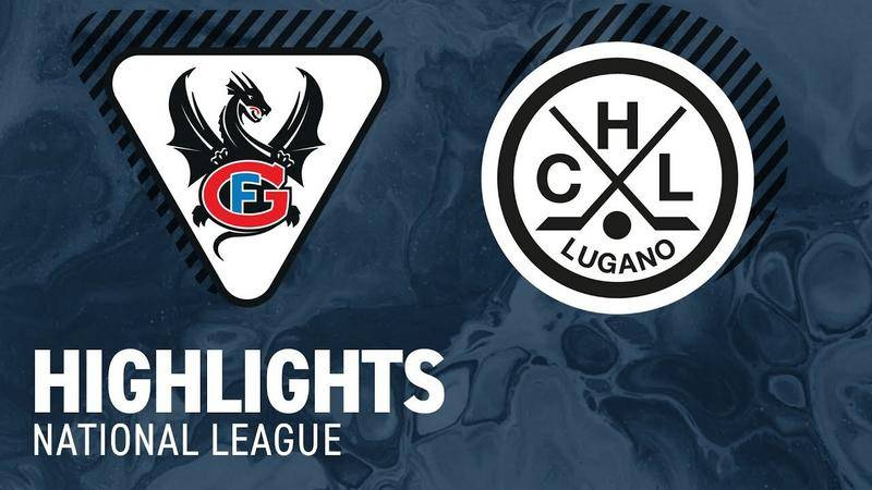 Fribourg vs. Lugano 1:2 - Highlights National League