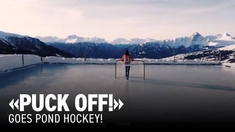 «Puck Off!» goes Pond Hockey! Die Urform des Hockeys!