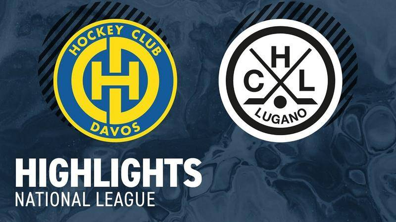 Davos vs. Lugano 5:6 n.P. - Highlights National League