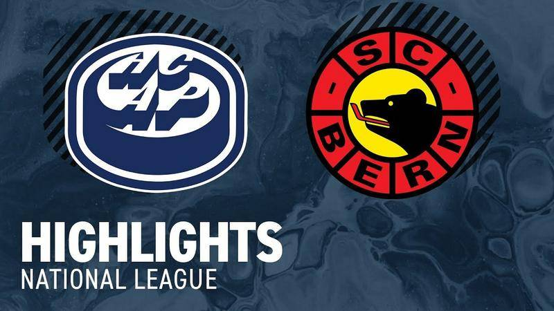 Ambri vs. Bern 1:4 - Highlihts National League