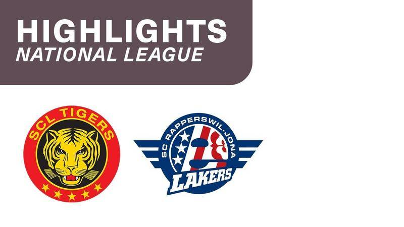 SCL Tigers vs. SCRJ Lakers 4:1 - Highlights National League