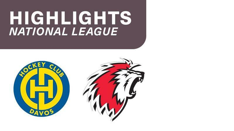 Davos vs. Lausanne 4:3 - Highlights National League