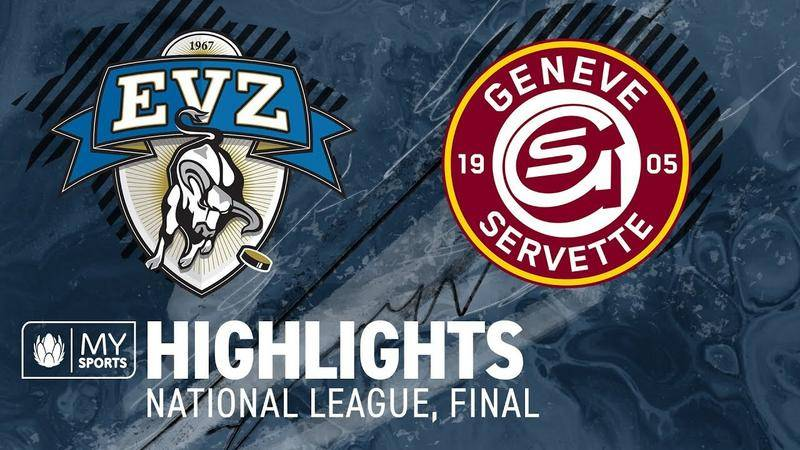 Zug vs. Genf 1:0 - Highlights National League l Final, Spiel 1 (1:0)