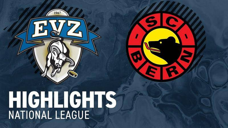 Zug vs. Bern 7:1 - Highlights National League