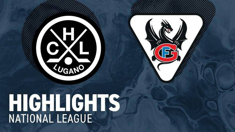 Lugano vs. Fribourg 5:4 n.V. - Highlights National League