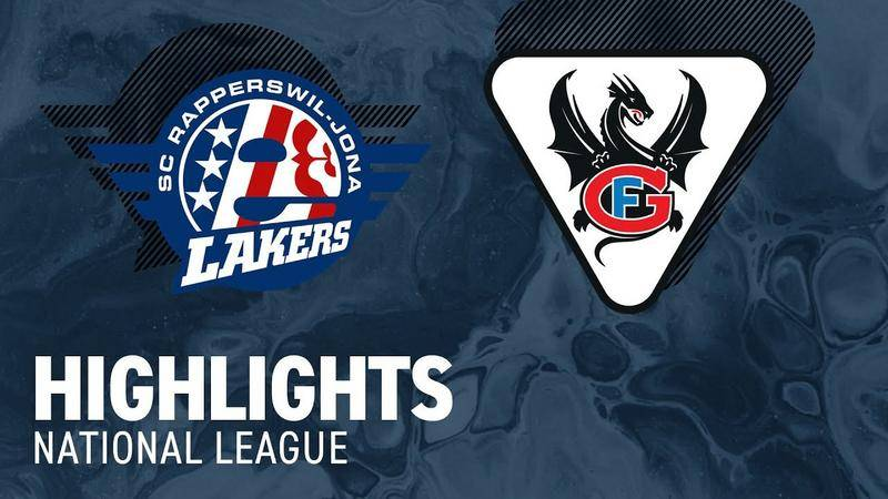 SCRJ Lakers vs. Fribourg 4:1 - Highlights National League
