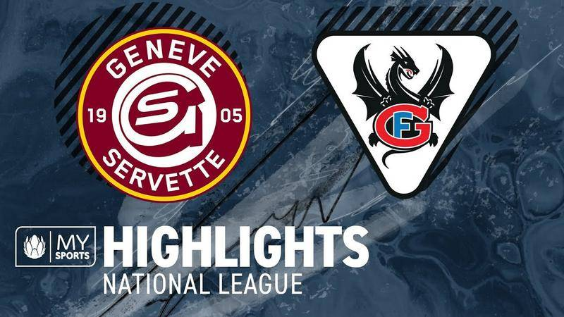 Genf vs. Fribourg 3:1 - Highlights National League