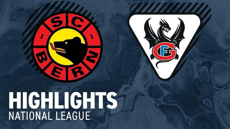 Bern vs. Fribourg 5:6 - Highlights National League