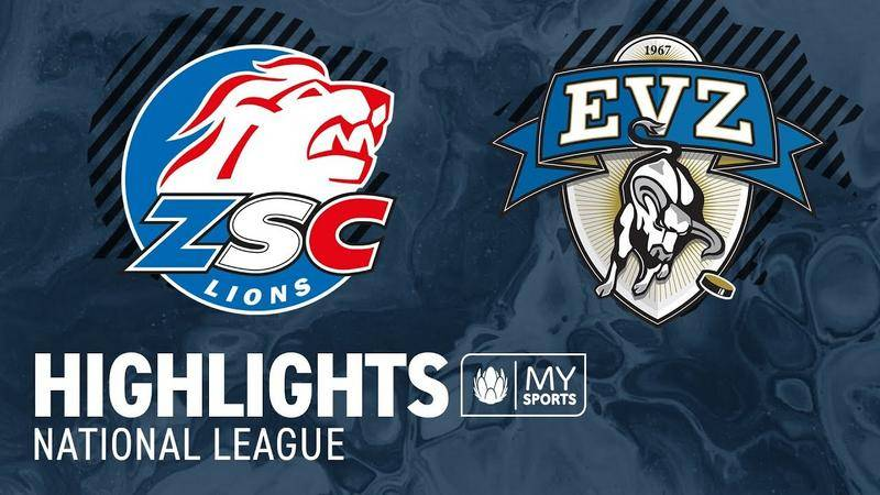 ZSC Lions vs. Zug 2:6 - Highlights National League