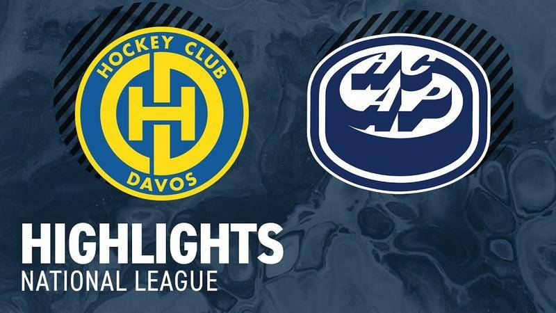 Davos vs. Ambri 5:3 - Highlights National League