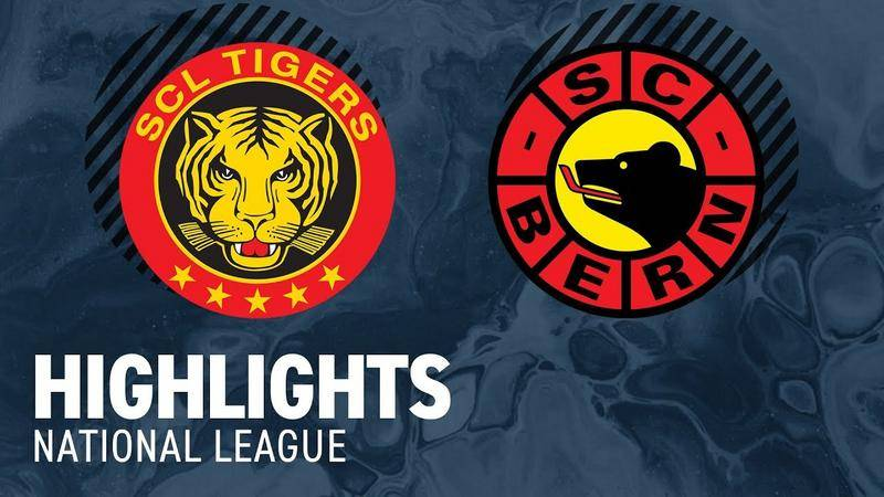 SCL Tigers vs. Bern 2:4 - Highlights National League