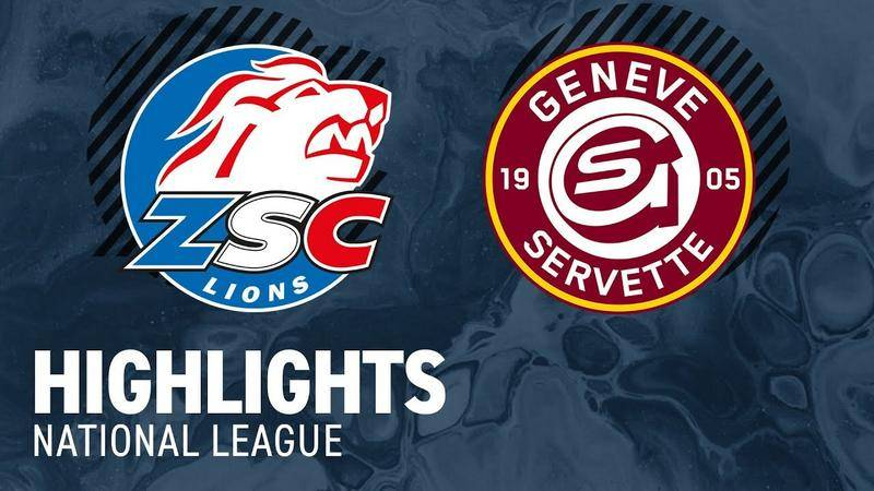 ZSC Lions vs. Genf 3:4 nV - Highlights National League
