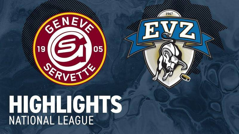 Genf vs. Zug 3:4 n.V. - Highlights National League