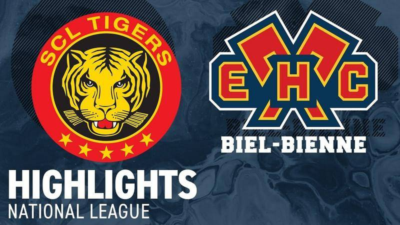SCL Tigers vs. EHC Biel 4:5 n.V. - Highlights National League