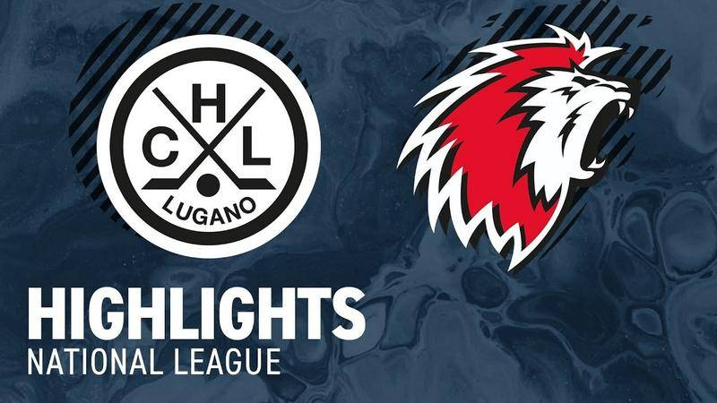 Lugano vs. Lausanne 4:3 nV - Highlights National League