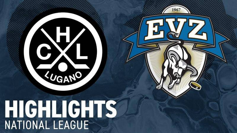 Lugano vs. Zug 2:3 - Highlights National League