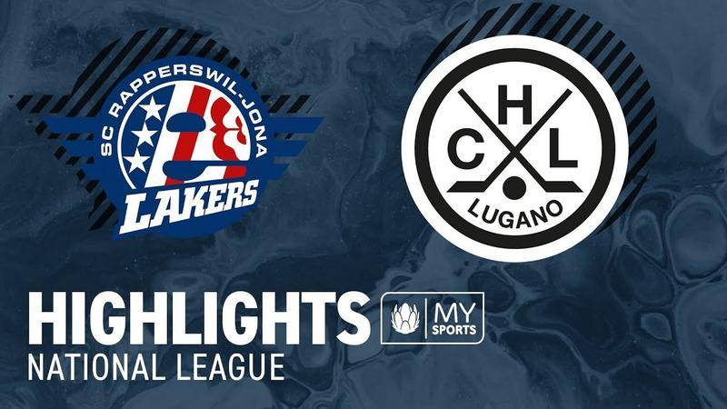 SCRJ Lakers vs. Lugano 3:1 - Highlights National League l Playoff-Viertelfinal, Spiel 4 (3:1)