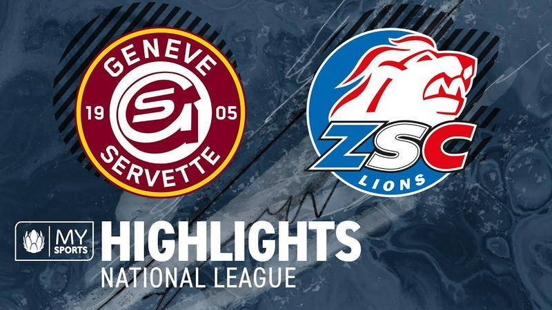 Genf vs. ZSC Lions 4:1 - Highlights National League l Halbfinal, Spiel 2 (2:0)