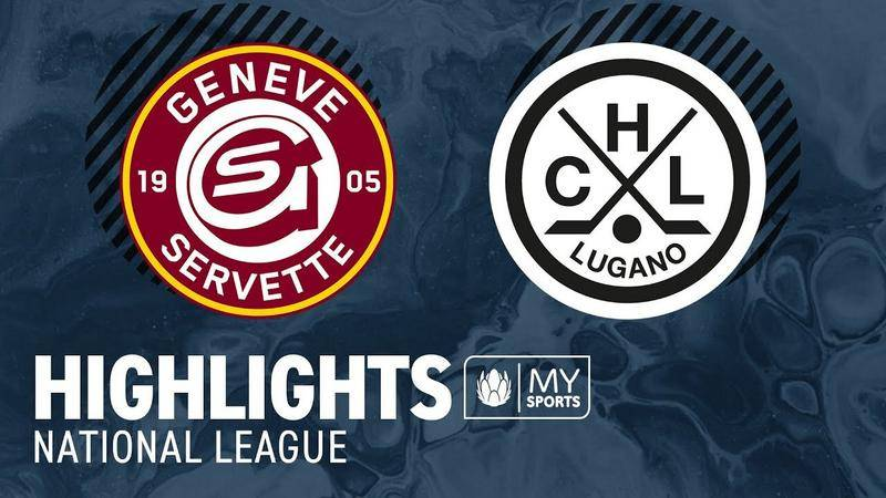 Genf vs. Lugano 5:2 - Highlights National League