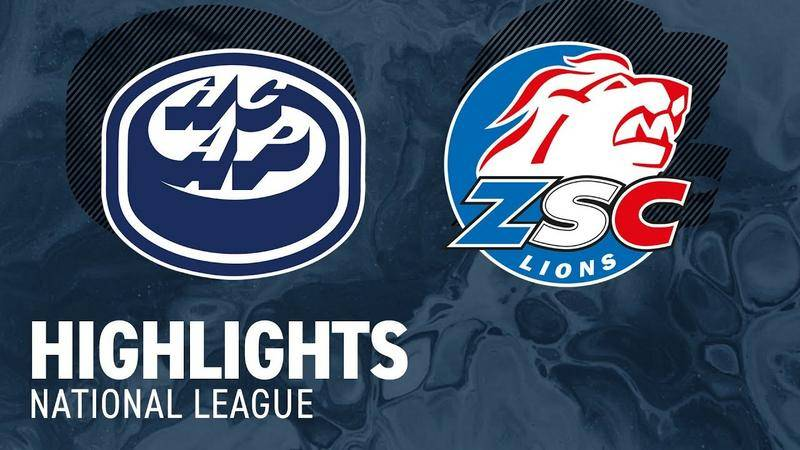 Ambri vs. ZSC Lions 5:2 - Highlights National League