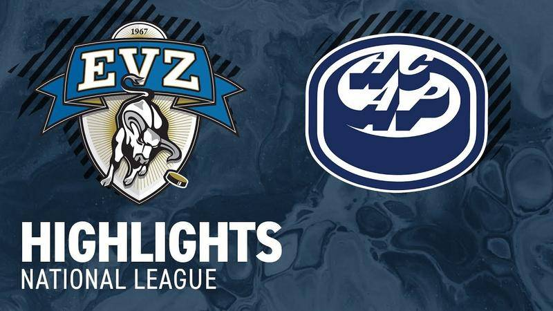 Zug vs. Ambri 5:4 - Highlights National League