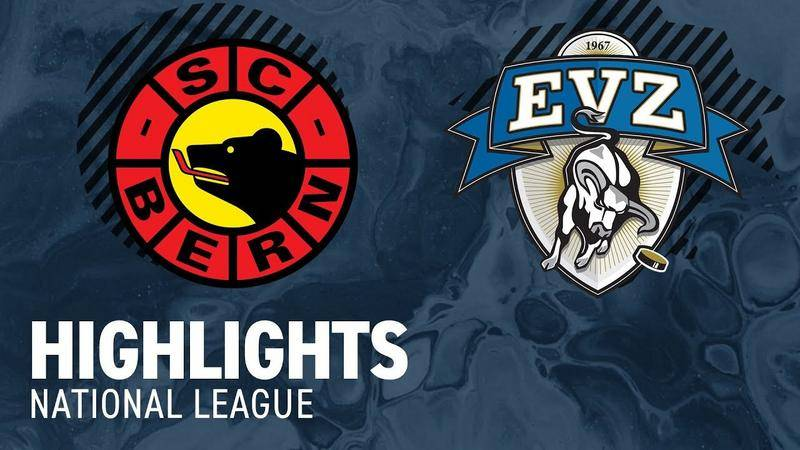 Bern vs. Zug 4:5 - Highlights National League