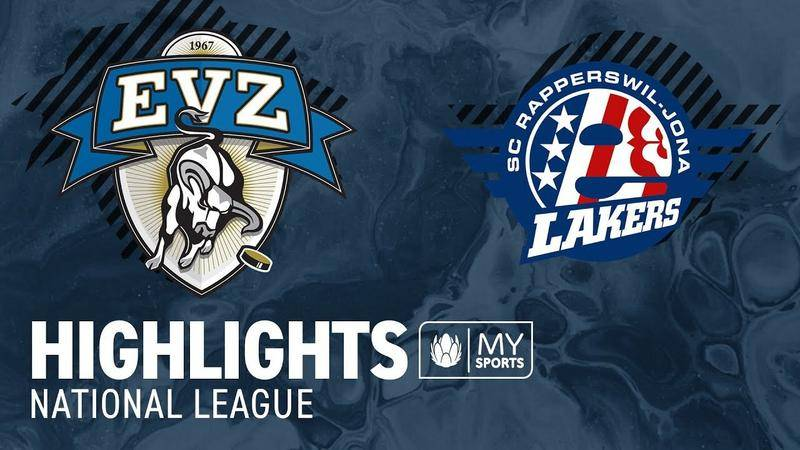 Zug vs. SCRJ Lakers 1:2 - Highlights National League l Halbfinal, Spiel 3 (2:1)