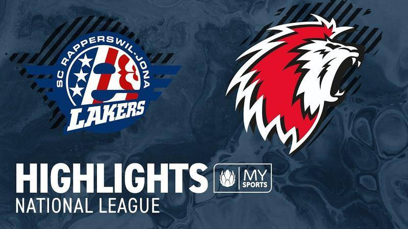 SCRJ Lakers vs. Lausanne 7:5 - Highlights National League