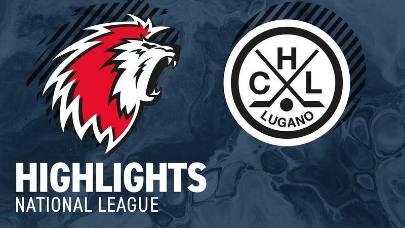 Lausanne vs. Lugano 2:3 nV - Highlights National League