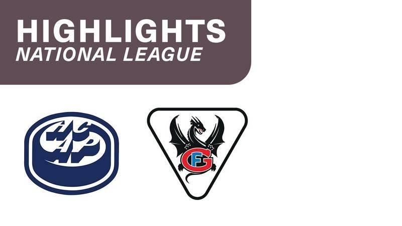 Ambri vs. Fribourg 4:0 - Highlights National League