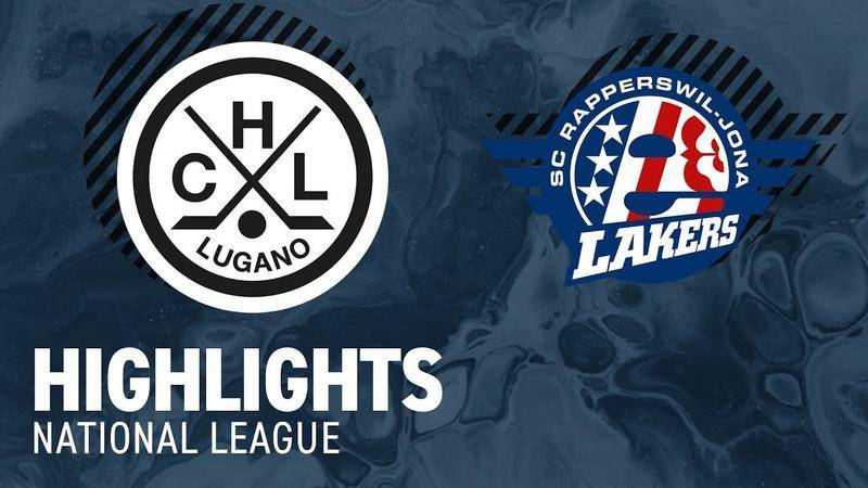 Lugano vs. SCRJ Lakers 5:2 - Highlights National League