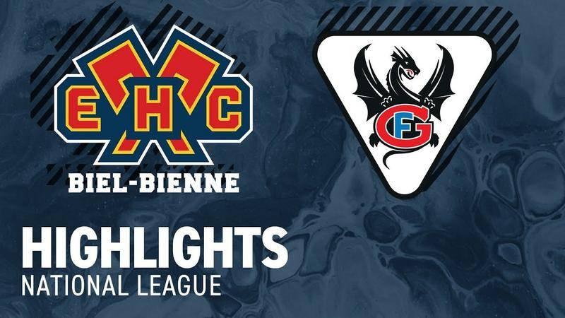 Biel vs. Fribourg 1:4 - Highlights National League