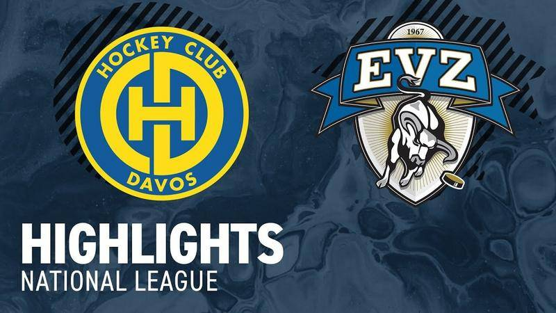 Davos vs. Zug 2:7 - Highlights National League