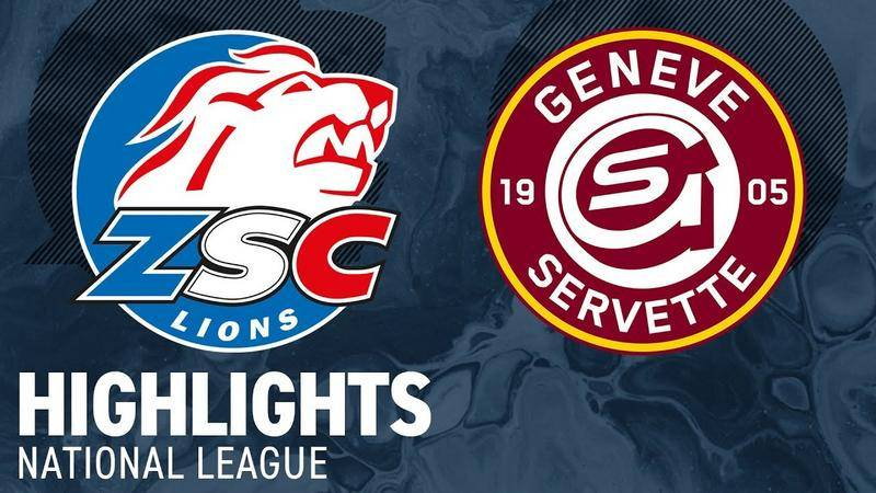 ZSC Lions vs. Genf 4:5 - Highlights National League