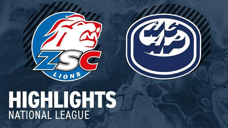 ZSC Lions vs. Ambri  2:3 - Hihlights National League