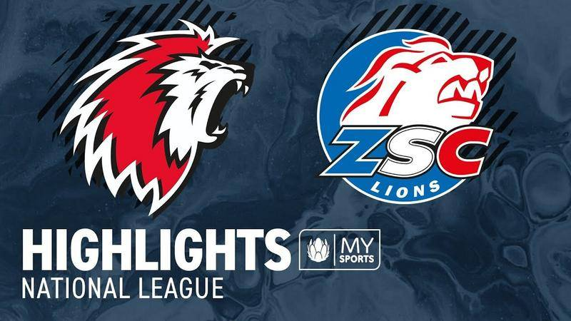 Lausanne vs. ZSC Lions 5:2 -  Highlights National League l Viertelfinal, Spiel 5 (2:3)